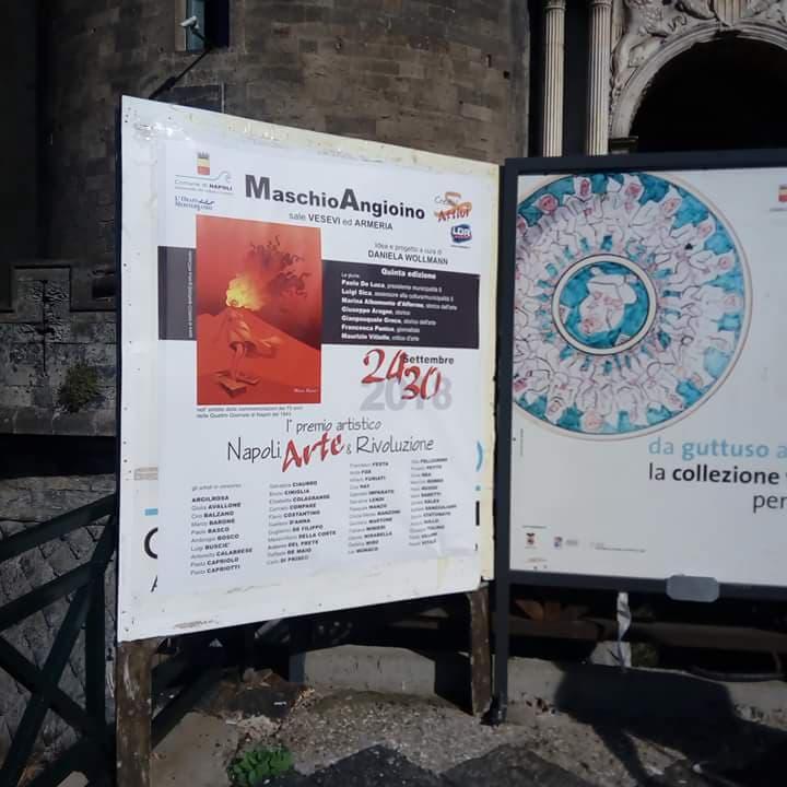 Mostra collettiva al Maschio Angioino dal 24 al 30 settembre
